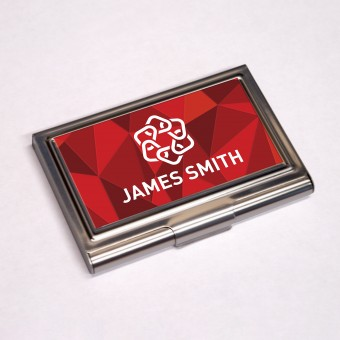 Personalised Business Card Holder