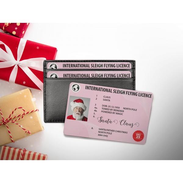 Santa Lost Flying Licence