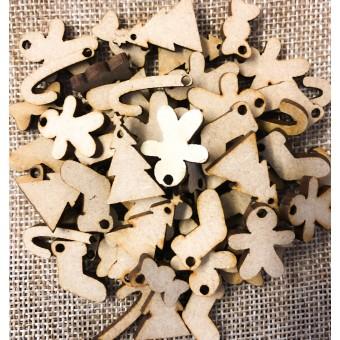 100 Plywood Christmas Shapes