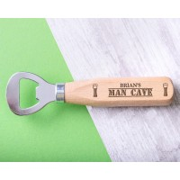 Personalised Engraved Wooden Bottle Opener - WBONS-109