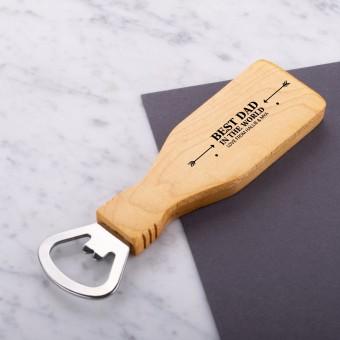 Personalised Engraved Magnetic Wooden Bottle Opener