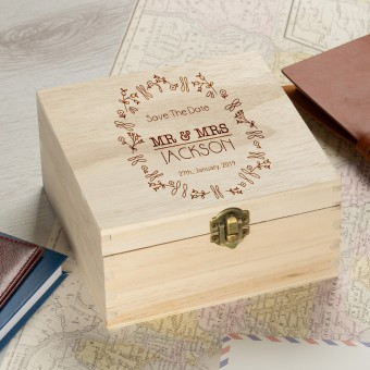 Personalised  Wooden Box