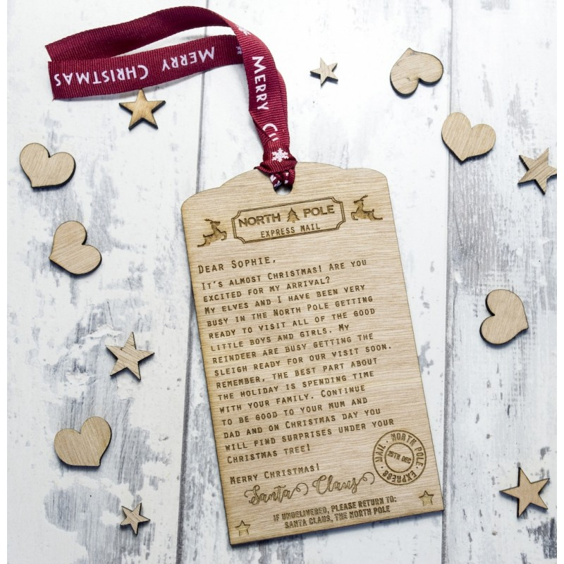 Personalised letter from santa spiritdancerdesigns Images