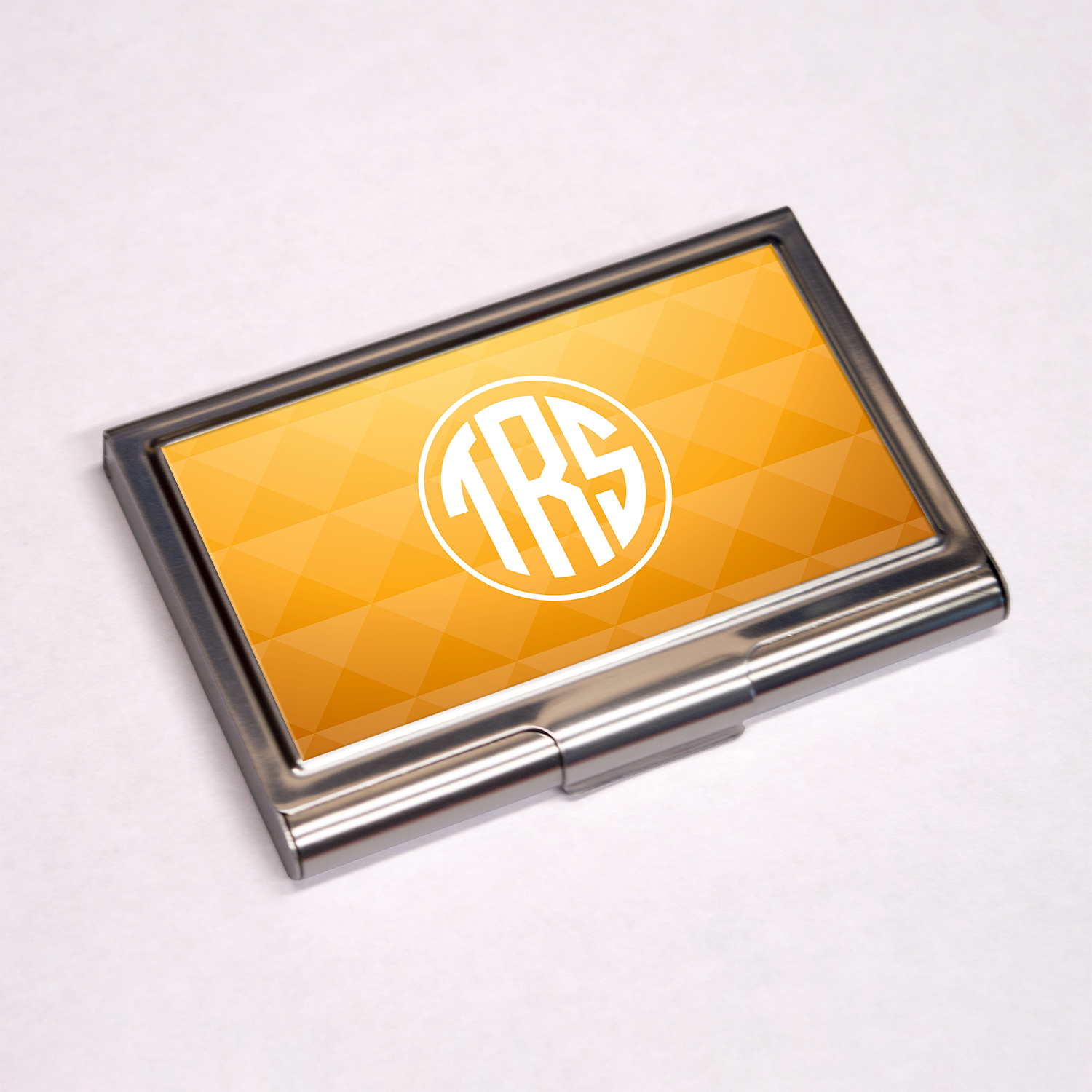 Personalised Business Card Holder Colour Printed Sublimation BCH-109 ...